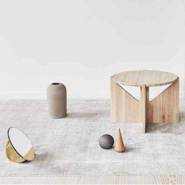 KRISTINA DAM STUDIO Oak Side Table - 2 Colours-0