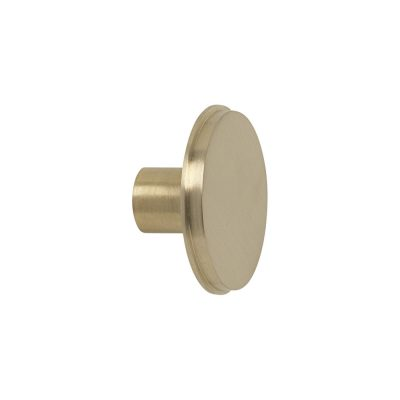 ferm Living Hook Knob Brass Large-0