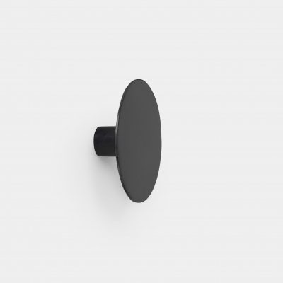 ferm Living Hook Knob Black Brass Large-0