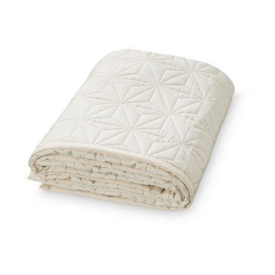 CAM CAM Organic Signature Quilt Creme White - 2 Sizes-0