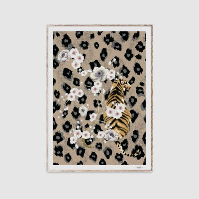 PAPER COLLECTIVE Tiger Poster Print 50x70cm-0
