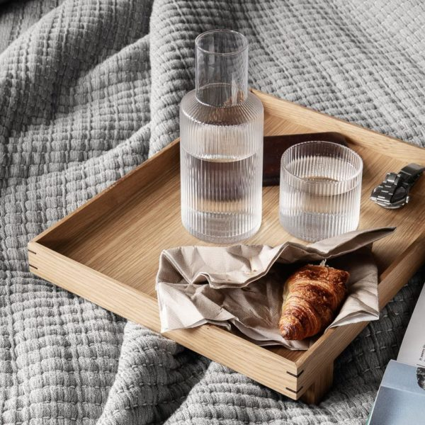 ferm LIVING Ripple Carafe Set-25996