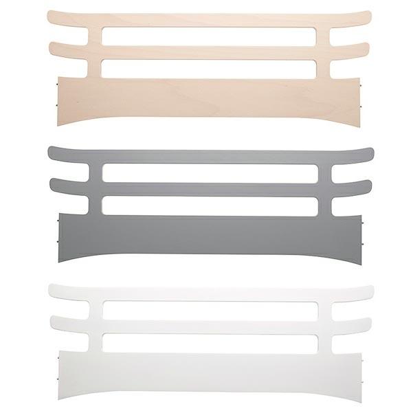 LEANDER Junior Bed – Cot Extension Whitewash Wood -25889