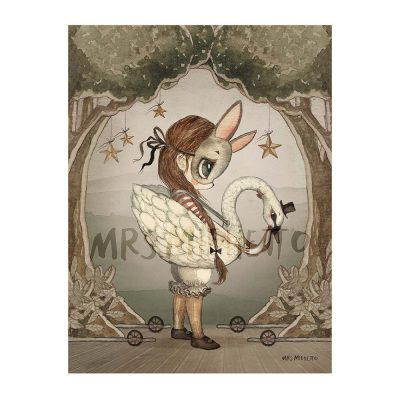 MRS MIGHETTO Miss Edda Single Pack 18x24cm-0