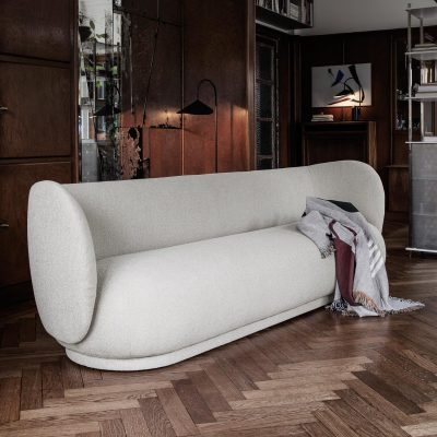 PRE ORDER - ferm LIVING Rico 4 Seater Sofa/Couch Boucle – 3 colours-0