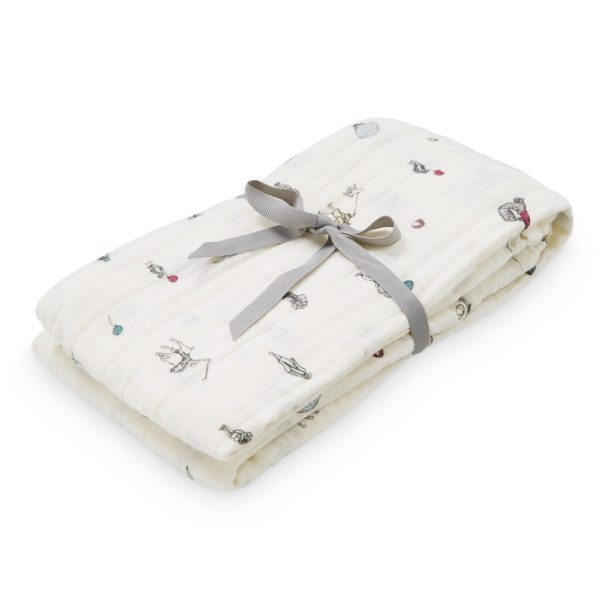 CAM CAM Organic Printed Light Swaddle Holiday-27078