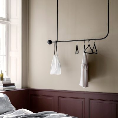 ferm LIVING Pujo Hanging Coat Rack Black-0