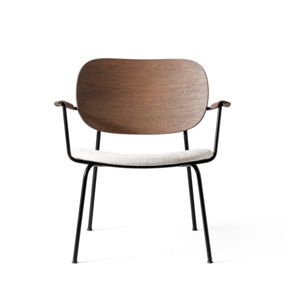 PRE ORDER - MENU Co Lounge Chair Walnut/Grey-0