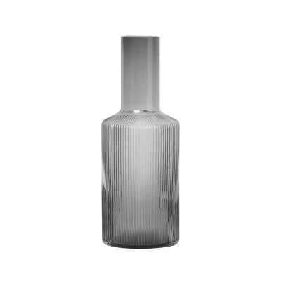 ferm LIVING Ripple Carafe Smoked Grey-0