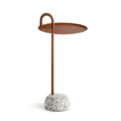 HAY Bowler Side Table, Pale Brown-0