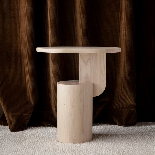 ferm LIVING Insert Side Table Natural-28807
