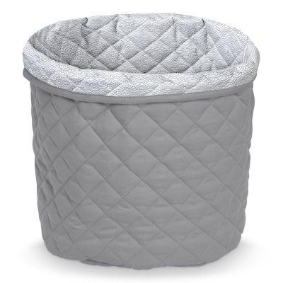 CAM CAM Quilted Storage Basket Medium Grey-0