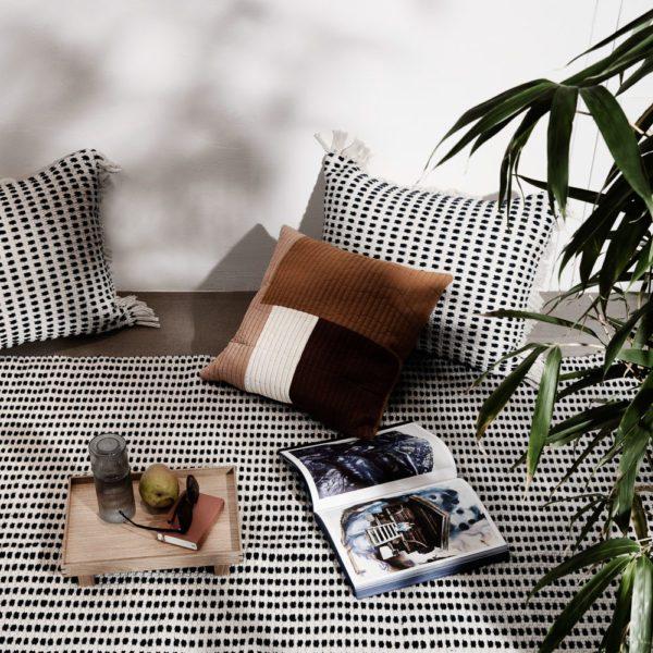 ferm LIVING Way Cushion Off-White-30475