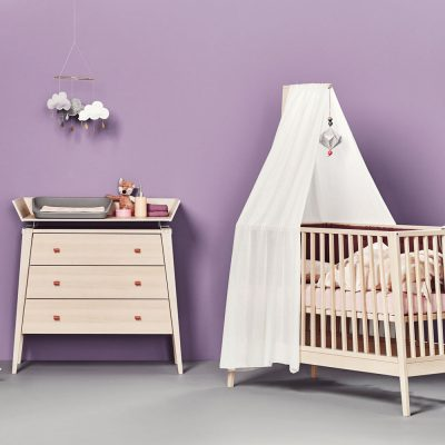 LINEA BY LEANDER Cot Canopy, White-0
