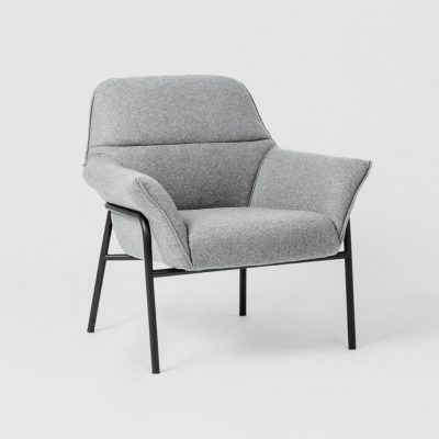 PRE ORDER - WARRANBROOKE Winston Armchair Grey/Black-0