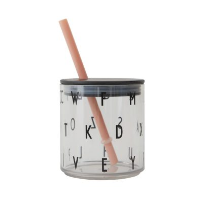 DESIGN LETTERS Straw Lid Nude-0
