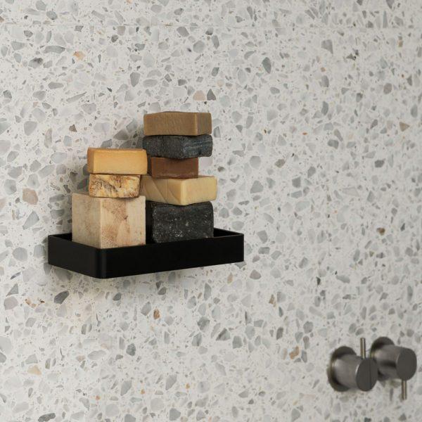 MENU Shower Tray, Marble White-33269
