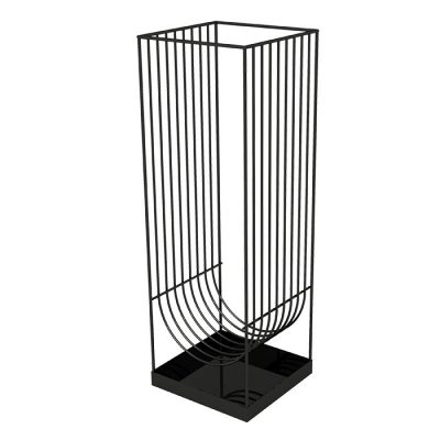 AYTM Curva Umbrella Stand, Black-0
