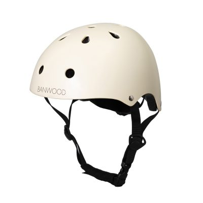 BANWOOD Classic Kids Bike Helmet, Cream -0