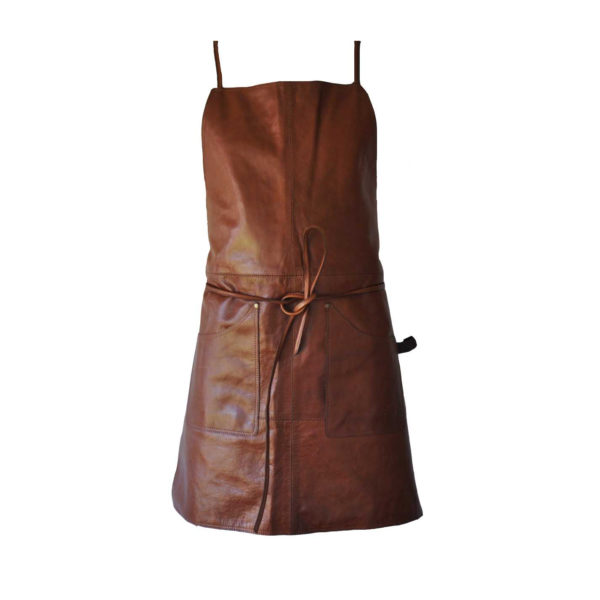 NORDIC ROOMS Leather Apron, Crossover-33752