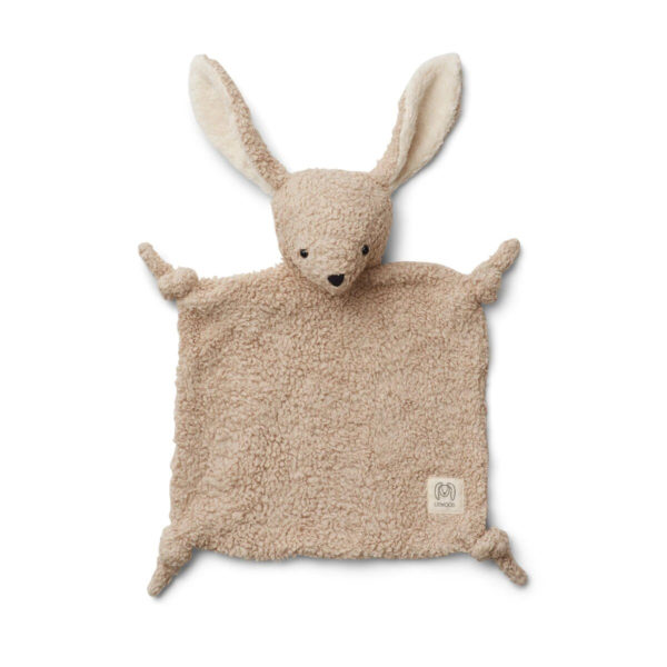 LIEWOOD Lotte Organic Cotton Cuddle Cloth, Rabbit - Pale Grey-34856
