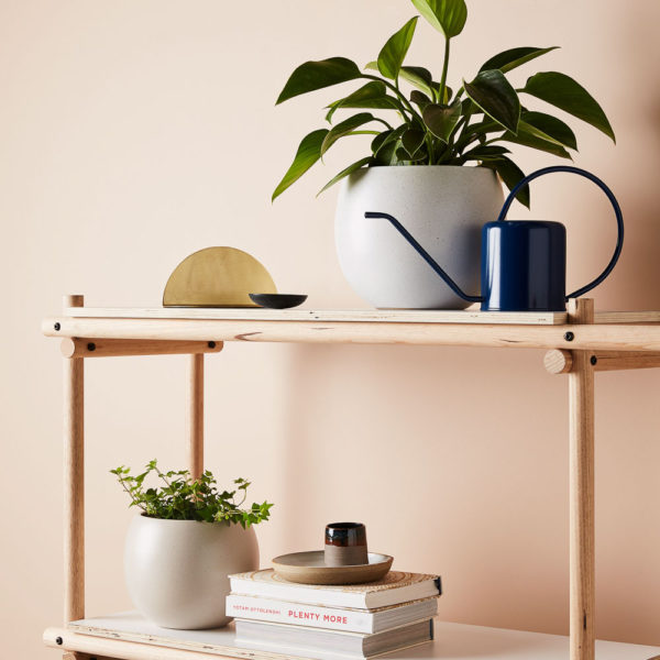 EVERGREEN COLLECTIVE Bower Pot, Putty - 3 Sizes-35590
