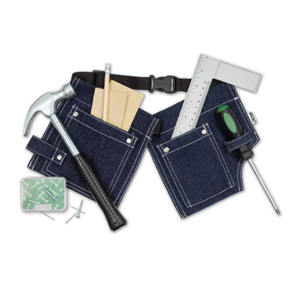 MICKI Kids Tools – Tool Belt with Tools and Accessories-0